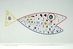 Fish by Alexander Calder, 1944, Hirshhorn Museum, Washington, DC via pbase.com #Fish #Sculpture #Alexander_Calder #pbase #Hirshhorn_Museum