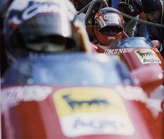 Gilles Villeneuve & Didier Pironi (Ferrari 126C2) - 1982 - Belgian GP