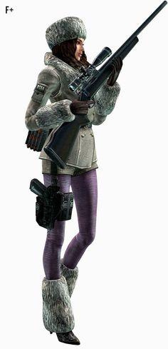 Resident Evil: Revelations - Jessica Sherawat