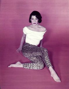 Ziva Shapir (Ziva Rodann) - 1950s