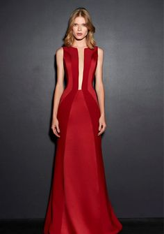 vestido de festa vermelho formatura Gala Dresses, Event Dresses, Couture Dresses, Fashion Dresses, Dress Outfits, Beautiful Gowns, Beautiful Outfits, Style Couture, Red Fashion