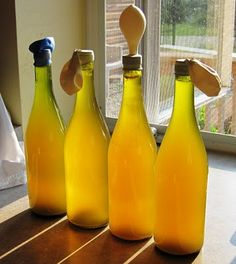 Bottling Dandelion Wine - Common Sense Homesteading
