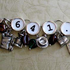 Coffee Charm Bracelet