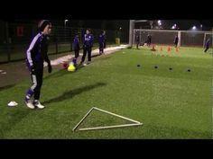 Kondition - Koordination integriert mit Ball - YouTube