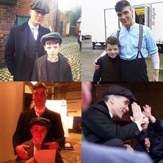 Cillian Murphy with some young costars Peaky Blinders 💜 Peaky Blinders Characters, Peaky Blinders Series, Peaky Blinders Thomas, Cillian Murphy Peaky Blinders, Boardwalk Empire, Cillian Murphy Young, Birmingham, Gotham Characters, Bbc