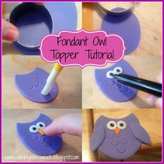 Sarah Lynn's Sweets: Owl Toppers - What a Hoot!