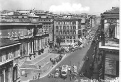 Via Nazionale « Foto di Roma Sparita