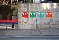 KU 1 - Minä, kuva ja kulttuuri: October 2013 Space Invaders, Graffiti, Street Art, Artist, Google Search, Artists, Graffiti Artwork, Street Art Graffiti