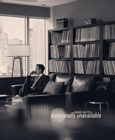 """"""" § Suits Meme: One Quote """" - What the hell is wrong with you? - People say I'm emotionally unavailable. """" """""""