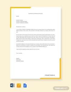 7 Best business proposal letter images in 2016   Business proposal