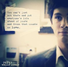 Perks of Being a Wallflower ♡