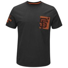 San Francisco Giants Majestic Strong Drive Fashion T-Shirt - Black