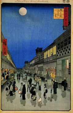 90 Night View of Saruwakacho