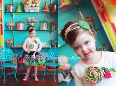 Perfect for my Keegy - a candy store themed photo shoot. Photoshoot Themes, Photoshoot Inspiration, Photography Themes, Children Photography, Family Photography, Cheerleading Senior Pictures, Senior Pics, Birthday Party Design, 3rd Birthday