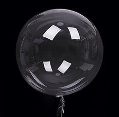 ZOOYOO Creative Bobo Balloons Jumbo Latex Balloon Clear Transparent Round bubble Balloons Without Wrinkle Jumbo Balloons, Clear Balloons, Bubble Balloons, Large Balloons, Confetti Balloons, Baby Shower Balloons, Foil Balloons, Bubbles, Round Balloons
