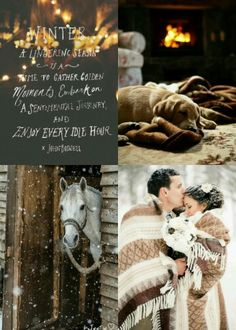 Winter Moments #moodboard #mosaic #collage #byJeetje