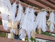 Indie Gold Baby Shower by Beijos Events