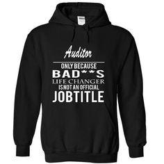 AUDITOR - job title T Shirts, Hoodies Sweatshirts. Check price ==► http://store.customtshirts.xyz/go.php?u=https://www.sunfrog.com/Funny/AUDITOR--job-title-9609-Black-4387978-Hoodie.html?41382