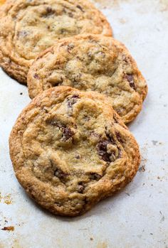 Soft & Chewy Gluten-Free Chocolate Chip Cookies | heartbeet kitchen