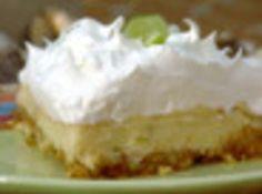 Key Lime Pie w/ Almond Crust Recipe