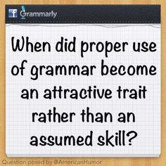 How do you think English grammar is changing? What changes are most important? SHARE your thoughts!