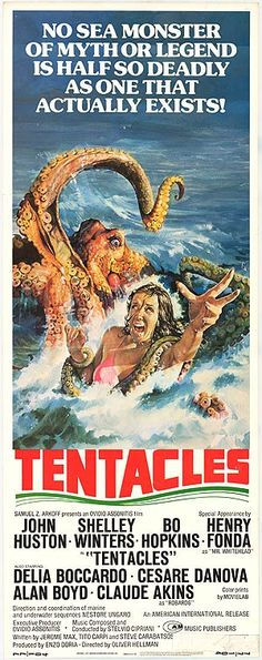 """Tentacles (1977) Unlike the movie """"Testicles"""", which featured..........."""