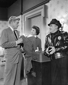 William Hopper and Barbara Hale, Paul Drake and Della Street, Perry Mason