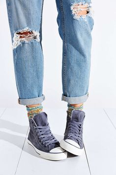 Converse Chuck Taylor All Star Washed High-Top Sneaker - Urban Outfitters