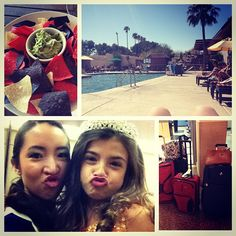 Westward Look Resort & Spa in Tucson, AZ   @brittanymiyaharas photo: First week as official pageant staff! I LOVE Arizona, guacamole, laying out in march, over packing, and funny faces with my little queens. #QueensDontRetireOnlyBecomeStaff