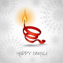 Happy Diwali Vector!!
