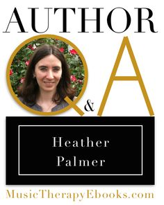 84 best music therapy ebooks images on pinterest author book and meet the author heather palmer music therapy e books fandeluxe Gallery