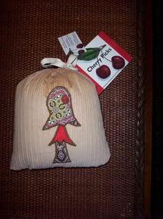 Padded Mushroom Bag  by Charity McAllister  Mendocino