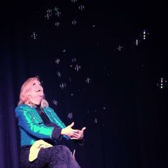 Soap bubble finale. #soapbubble #bubble #Onstage #IPhonePhotography #FemaleMagician #magician #MagicLife