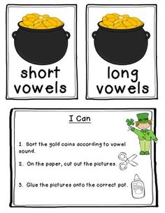 $9.00 package St. Patrick's Day Center Fun- Math and Literacy Bundled Common core activities