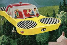 Popular Science...1950's vision of a flying car