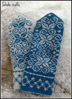 Properly practiced, knitting soothes the troubled spirit, and it doesn't hurt the untroubled spirit either. Mittens Pattern, Knitted Gloves, Fair Isle Knitting Patterns, Knitting Designs, Knitting Projects, Fabric Yarn, Knitting Accessories, Hand Knitting, Finger