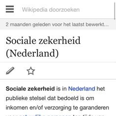 begrip sociale zekerheid