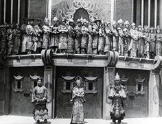 Vintage Los Angeles Photo - Employees posing outside Sid Grauman's Chinese Theater, Hollywood Blvd., Los Angeles, C.A. in 1927.