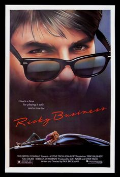 """""""Risky Business"""", starring Tom Cruise in a breakout performance, opens in U.S. theaters. In the film, Cruise played Joel Goodsen, a suburban Chicago teen who has a series of misadventures when his parents go out of town and leave him home alone. Written and directed by Paul Brickman, """"Risky Business"""" featured a now-famous scene in which Cruise's character dances around his house in a dress shirt and underwear to the accompaniment of Bob Seeger's hit song """"Old Time Rock and Roll."""""""