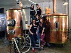 Belles of the brewery