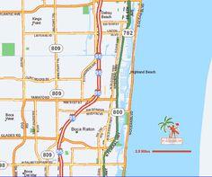 Parkside Boca Raton Florida Map Boca Raton Pinterest Boca - Boca raton florida map