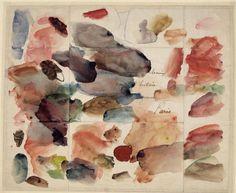 """Eugène Delacroix, """"Toques de cores"""", Reliquae"""