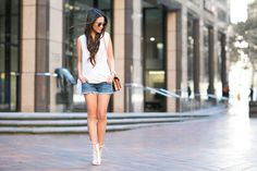 Casual :: Lace-up booties