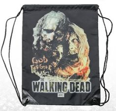 The Walking Dead - Zombies Drawstring Bag Walking Dead Zombies, The Walking Dead, Walker Zombie, Halloween Treat Bags, Scary Halloween, God Forgives, Backpack Bags, Background Images, Colorful Backgrounds