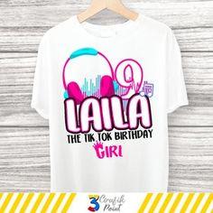 Birthday Girl T Shirt, Birthday Shirts, T Shirts With Sayings, Shirts For Girls, Slumber Party Birthday, 16th Birthday, Birthday Ideas, Retro Girls, Iron On Transfer