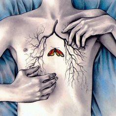 Kate Powell Art @katelouisepowell Between Two Lung...Instagram photo   Websta (Webstagram)
