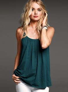 I looooove this color so much.... Lightly Padded Bra Top - Victoria's Secret