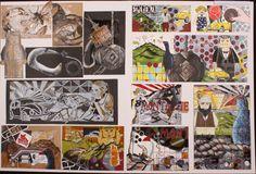 Excellence Middle Portfolio Examples, Art Portfolio, Art Journals, Sketchbooks, Painting Art, Art Boards, Middle, Student, Sculpture