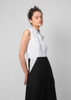 #dress #monicabachue #cleftlip #leporino #co Cleft Lip, Tops, Women, Fashion, Vestidos, Atelier, Moda, Fashion Styles, Fashion Illustrations