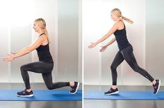 5. Lunge Jumps